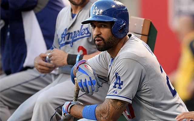 Matt Kemp eyes a healthy return to the Dodgers' lineup.