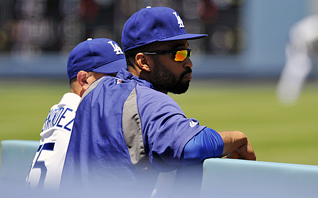 Matt Kemp's several weeks of watching from the dugout are over.