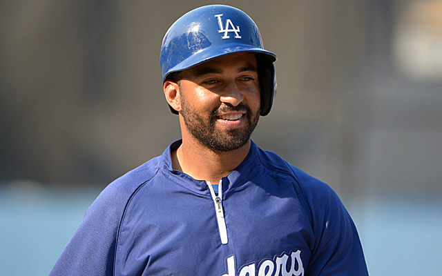 Matt Kemp's ankle is pain-free, he told reporters Sunday.