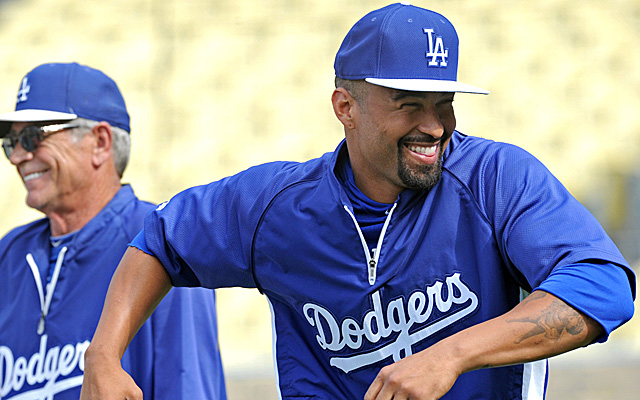 Happy Matt Kemp is nearing his triumphant return.