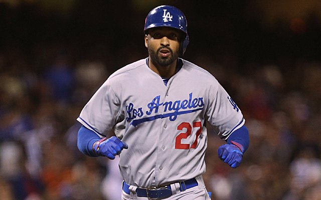 Matt Kemp went 2-for-4 with a home run Tuesday night.