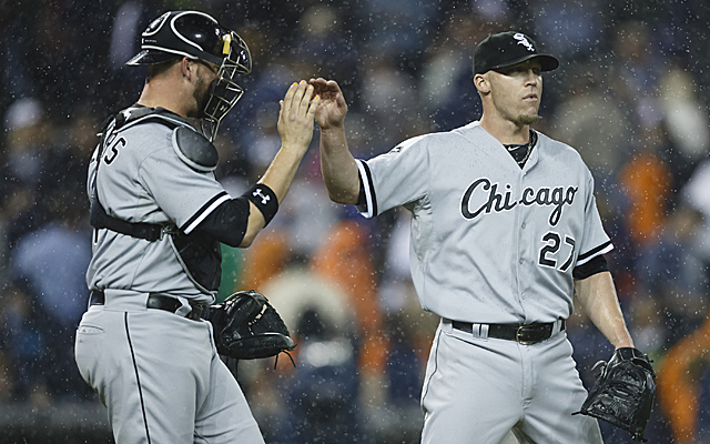Matt Lindstrom's stint as White Sox closer is done for a bit.