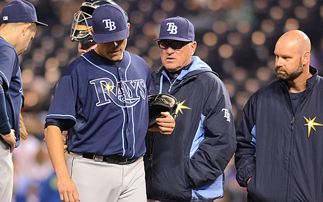 Matt Moore's exit may have been his last of the 2014 season.