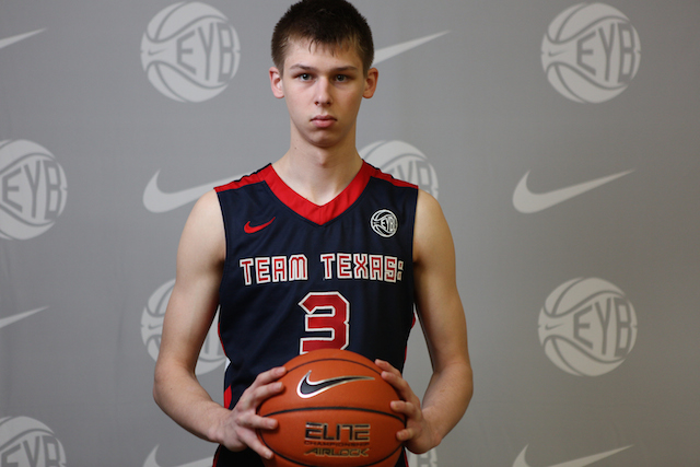 Matt McQuaid might be the best shooter in the country. (Nike EYB/Jon Lopez)