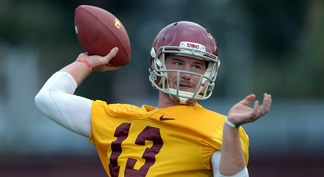 Max Wittek hasn't yet beaten out Cody Kessler for the starting QB job. (USATSI)