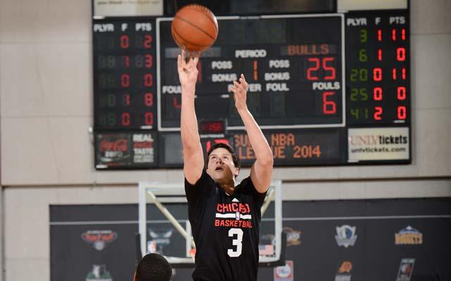 Doug McDermott let it fly in Summer League.   (Getty)