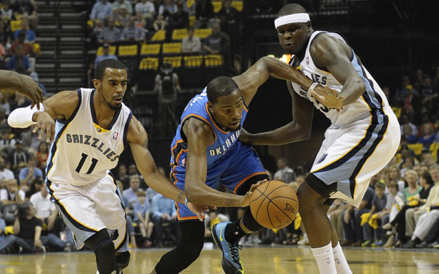 Memphis missed a healthy Conley and ZBo in Game 7.  (USATSI)
