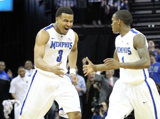 Memphis hopes its loaded backcourt means NCAA tournament success in the 2013-14 season. (USATSI)