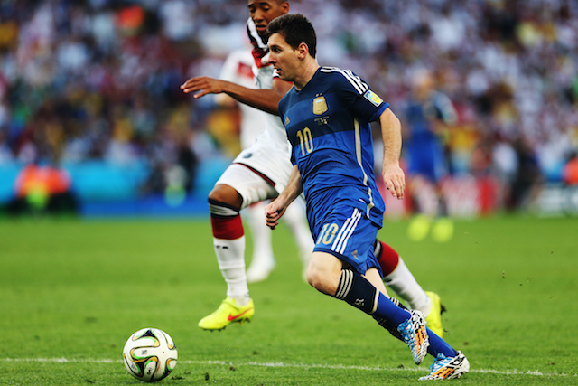 messi the best player in the world cup 2014