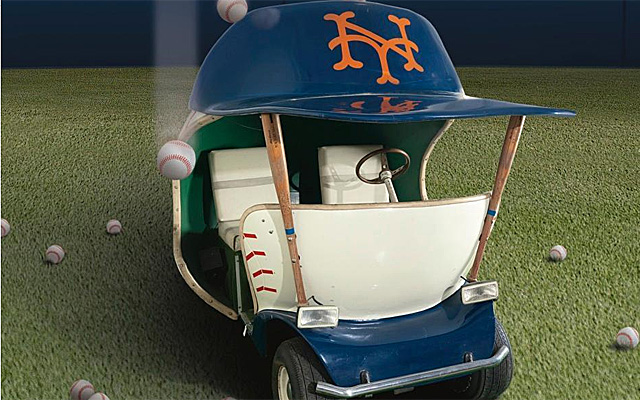 The Mets old bullpen car is for sale!