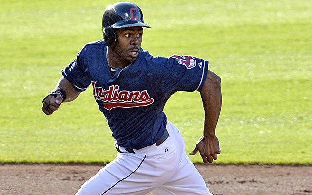 Michael Bourn continues to be hampered by his injured hamstring.