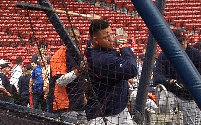 Miguel Cabrera is ready to take the field again.  (USATSI)