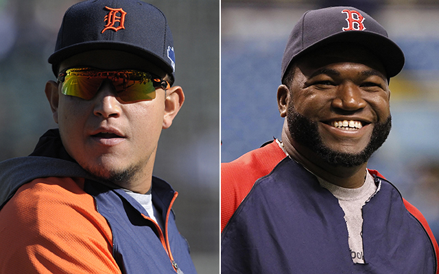 The ALCS features two of MLB's best sluggers in Miguel Cabrera and David Ortiz.