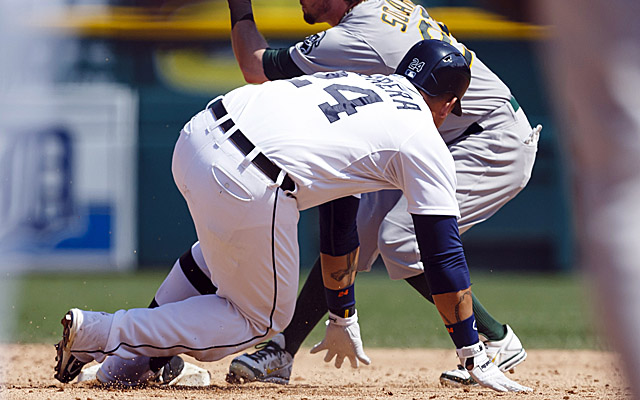 Here's the slide where Miguel Cabrera made the race for AL MVP a little closer.