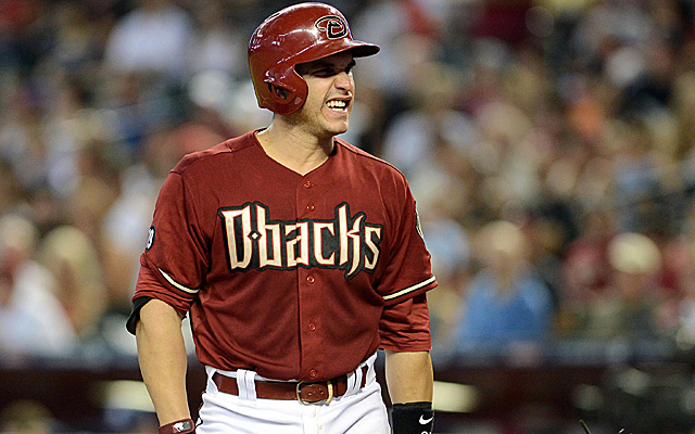 Miguel Montero's balky back has landed him on the disabled list.