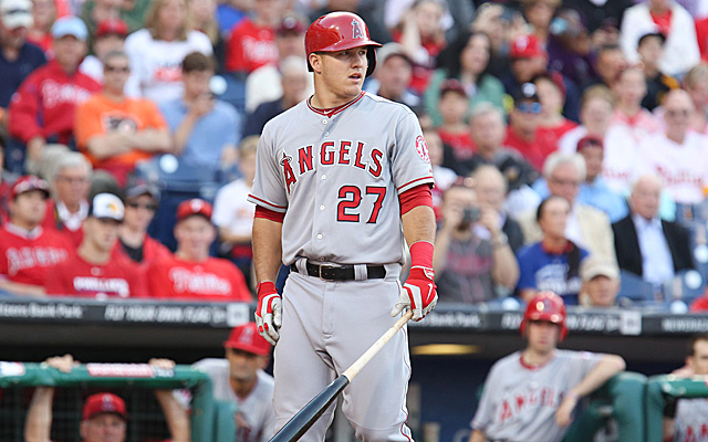 I'm real scared that Mike Trout is going to have a down year. Really.