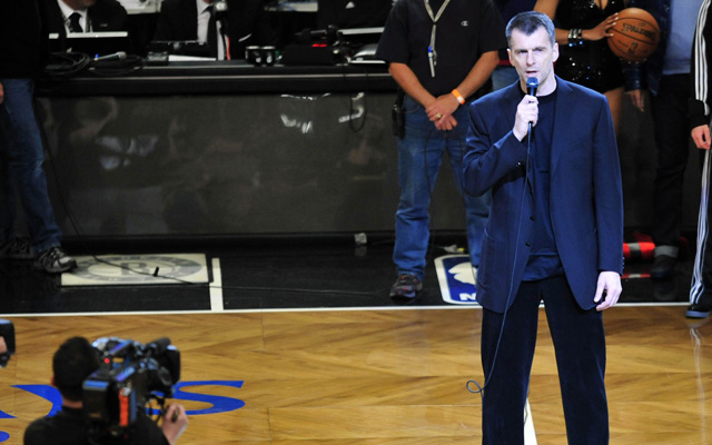 Mikhail Prokhorov brushes his shoulder off at $70 million. (USATSI)