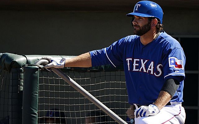 Mitch Moreland may have to begin the season on the disabled list.