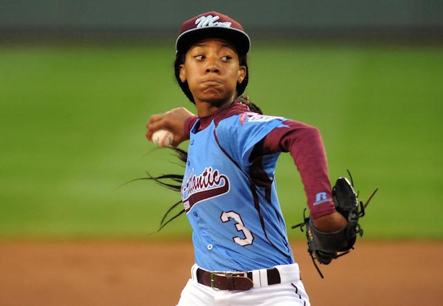 Mo'ne Davis faced a tough Nevada squad on Wednesday night. (USATSI)