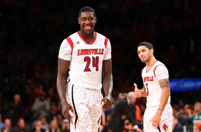 After a promising freshman season, forward Montrezl Harrell could be the next Louisville star. (USATSI)