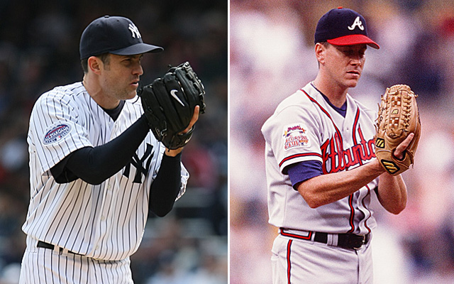 Is Mike Mussina inferior to Tom Glavine?