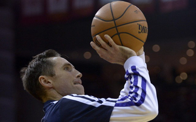Steve Nash is struggling to stay on the floor. (USATSI)