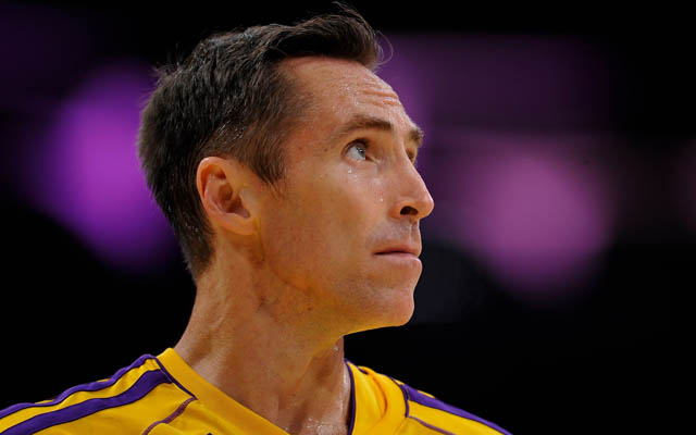 Steve Nash will reportedly be with the Lakers next year.  (USATSI)