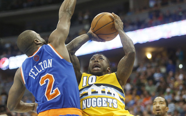 Nate Robinson thinks he's not getting officiated correctly.  (USATSI)