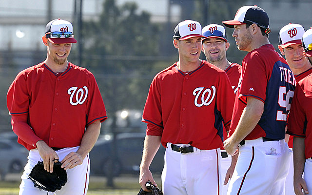 Strasburg and Fister lead the Nationals' loaded rotation