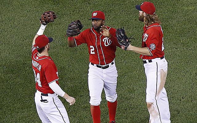 The Nationals have won 12 of their past 13 games.