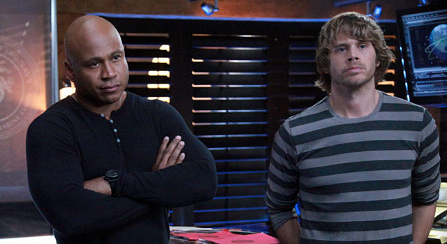 LL Cool J and Eric Christian Olsen co-star on CBS' hit drama NCIS: Los Angeles. (Getty)