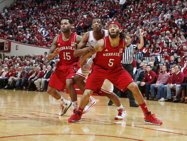 Nebraska held off Indiana to stay in the Tournament mix. (USATSI)
