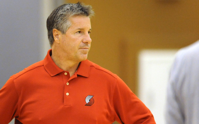 Neil Olshey says the Blazers are done rebuilding. (USATSI)