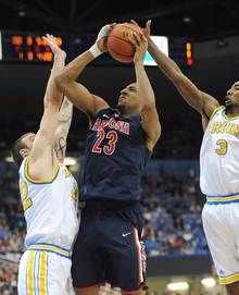 Arizona and UCLA may meet for a third time with an NCAA bid on the line.