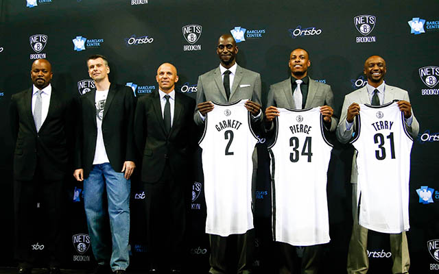 The Nets' attempts at building a super-contender backfired, horribly. (USATSI)