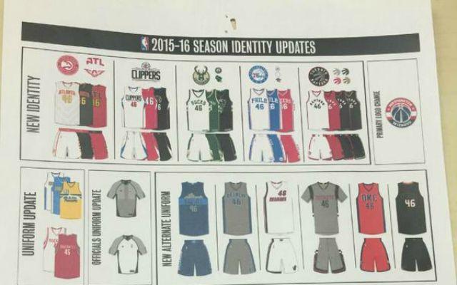 583e99de8 LOOK  2015-16 NBA uniforms leaked on Reddit message board ...