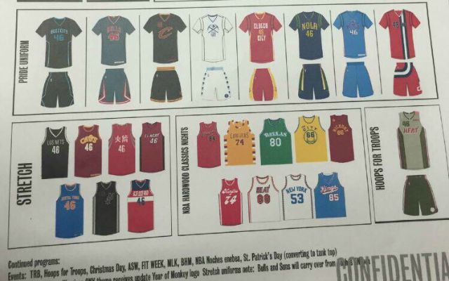 08cfa7cc4bc LOOK: 2015-16 NBA uniforms leaked on Reddit message board ...