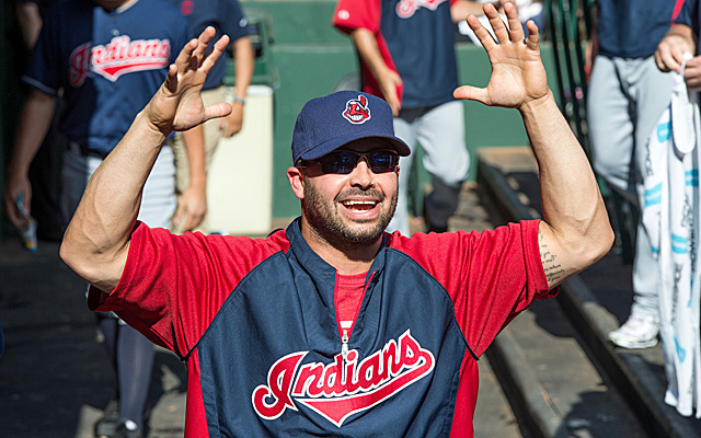 Nick Swisher is back with the Indians.