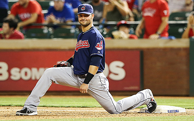 The Indians will be without Nick Swisher for at least three games.