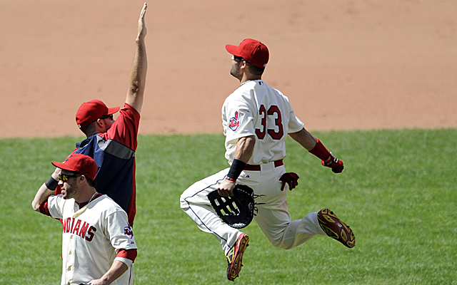 When you get an A, it causes you to jump in weird ways. Just look at Nick Swisher.
