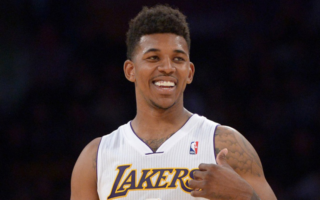 Nick Young had his house robbed.  (USATSI)