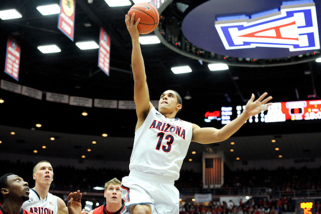 Nick Johnson was again the key player for Arizona, with 22 points in the win over Utah. (USATSI)