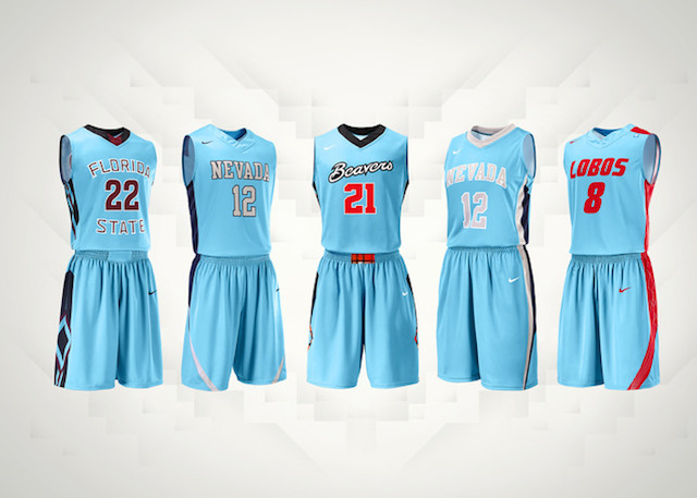 Four teams will be wearing turquoise jerseys for Native American Heritage Month. (Nike)