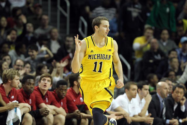 Nik Stauskas scored 44 points in his two games last week. (USATSI)