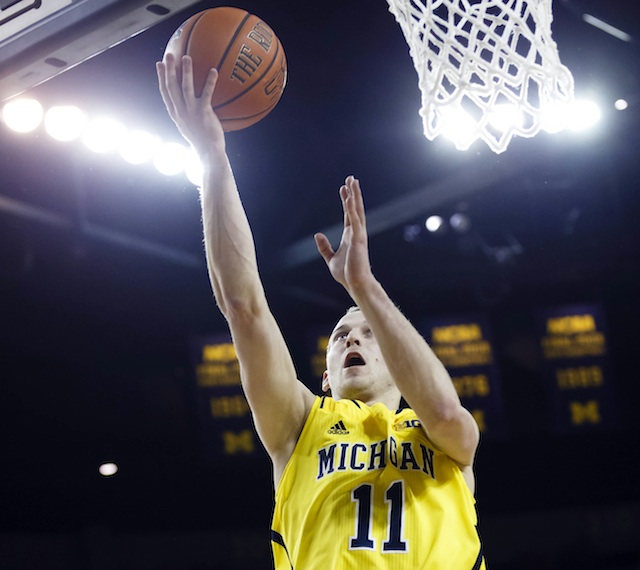 Nik Stauskas is averaging 23.3 points in his last three games. (USATSI)