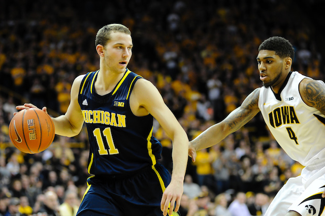 Nik Stauskas is averaging just 8.3 points in his last three games. (USATSI)