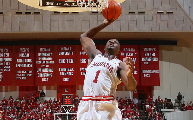 Indiana's Noah Vonleh could declare for the 2014 Draft.  (USATSI)