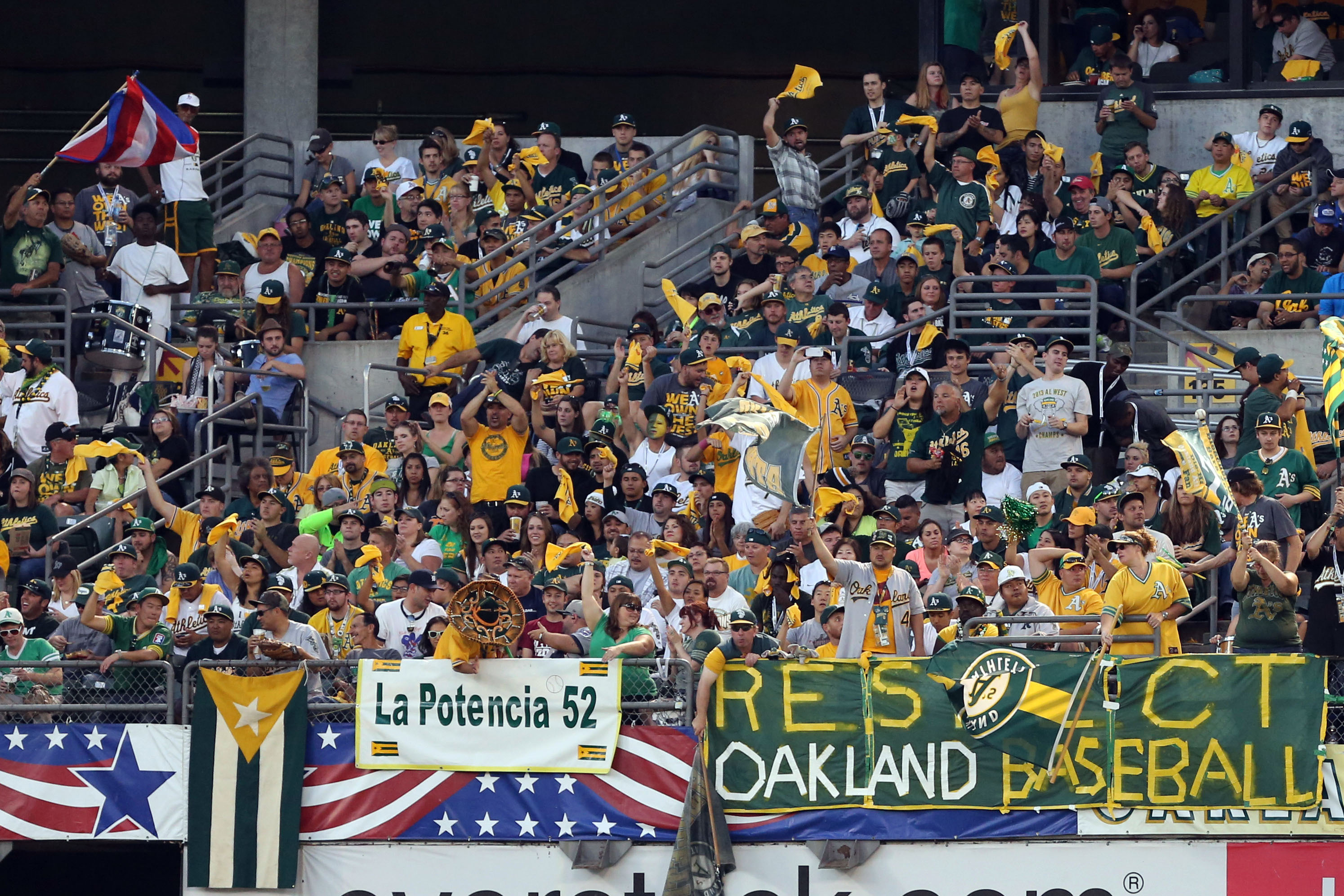 O.co Coliseum will remain the A's home for the foreseeable future.
