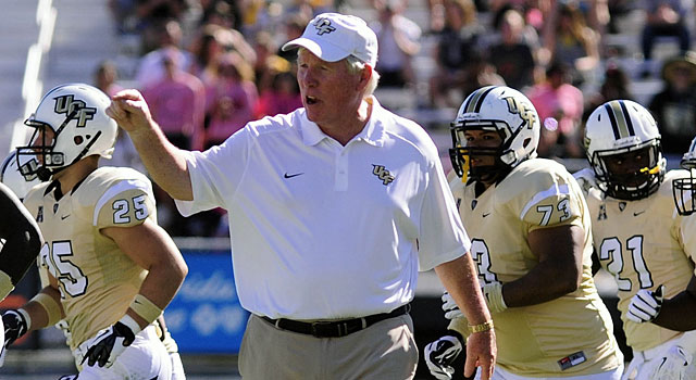 George O'Leary has guided UCF to its fourth 10-win season in the past 10 years. (USATSI)
