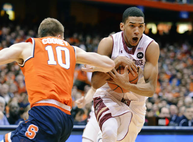 Olivier Hanlan (20 points) was huge in Boston College's takedown of Syracuse. (USATSI)